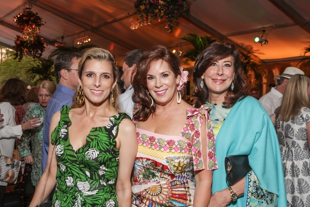 18 Patricia Griffith, from left, Cherie Flores and Vesta Frommer at Trees of Houston Root Ball March 2015