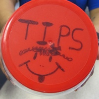 Katie Oxford tips tip jar February 2015