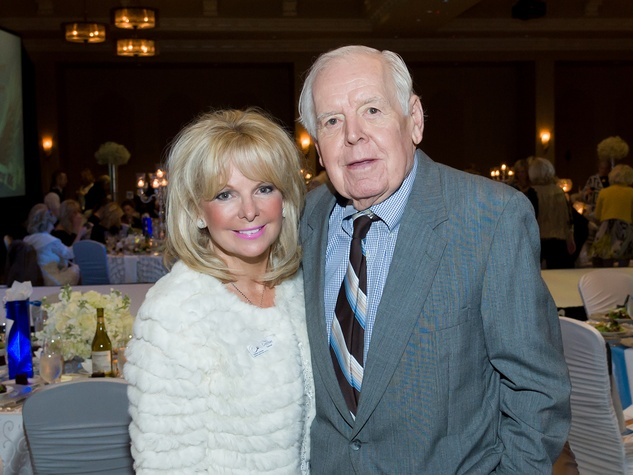 8 Gretchen Gilliam and W. Thad Gilliam at the Rodeo Trailblazer Awards Luncheon February 2015