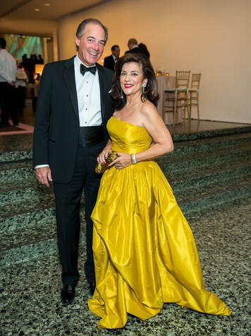 Jim Ware, Dancie Ware at Museum of Fine Arts Gala