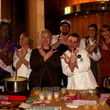 Annise Parker, Gracie Cavnar and chefs at Recipe 4 Success VegOut 30 Day Challenge