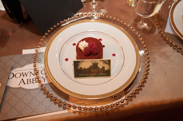 Place Setting at The Women's Home Gala November 2014