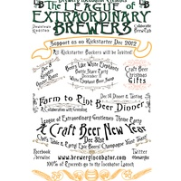 """Beer Pairing Dinner in Collaboration with Greenling """"Farm to Pint!"""""""