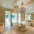 Master bath at 9625 Preston Rd. in Dallas