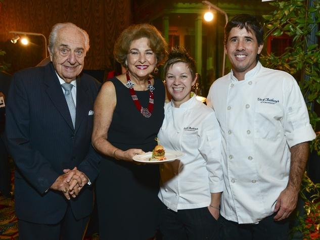 15 NAME, from left, Joanna Cassas and chefs Randi McHan and Carlos Gamboa of Vic & Anthony's at the March of Dimes Signature Chefs event October 2013