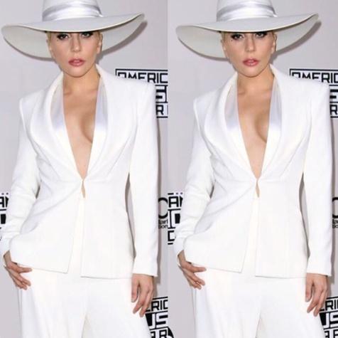 Lady Gaga in Brandon Maxwell at American Music Awards