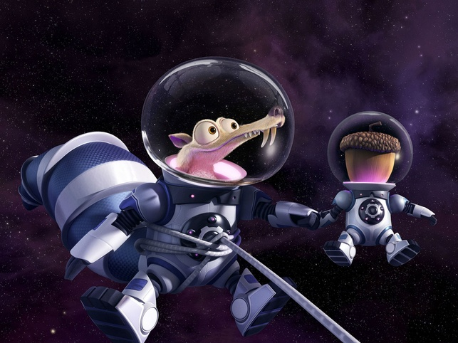 Scrat in Ice Age: Collision Course