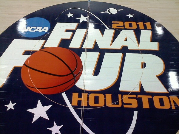 Final Four floor logo