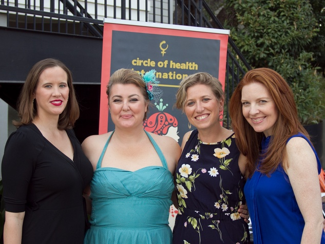 Circle of Health International Fundraiser at Hotel St. Cecilia in Austin April Blackmore Sera bonds Jessica Christian Rebecca plucer