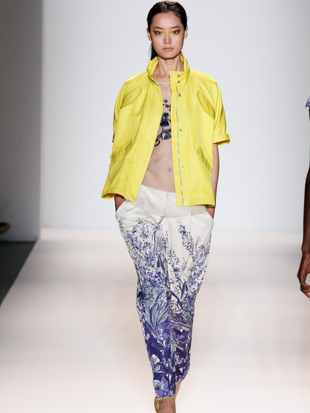 Clifford, Fashion Week spring 2013, September 2012, Lela Rose, Look 18