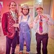 Fresh Arts Gum Ball Gala 2015 Harry McMahan, Matthew Wettergreen and Geoff Wilder