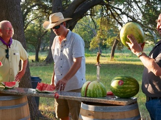 Austin Photo Set: News_McGinnis_watermelon throwdown_July 2011_people