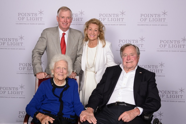 News, Shelby, Points of Light Tribute, Oct. 2015, Barbara Bush, Dan Quayle, Debi Rosling, George H. W. Bush