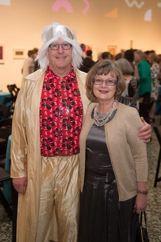 Richard Stang, Kimberly Watson at Glassell Benefit 2017