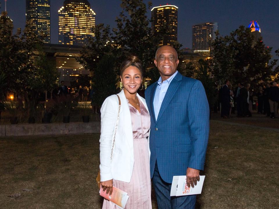 Houston, Buffalo Bayou Partnership Gala, November 2017, Kimberly Dixon-Dudley, Donald Thompson