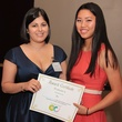 9 Dr. Alpa Nick, left, and Rosanne Hu at the Ovarcome Gala May 2014