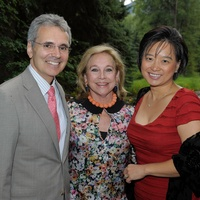 MD Anderson in Aspen, July 2012, Ron DePinho, Gail Stillwell, Lynda Chin