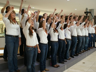 Longhorn Singers at Red River Sing Off