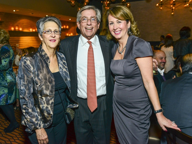 8 Kay and Fred Zeidman, from left, with Ileana Trevino at Vallone's opening party November 2013