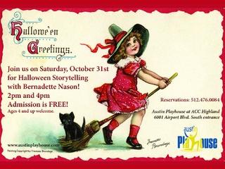 Halloween Storytelling with Bernadette Nason