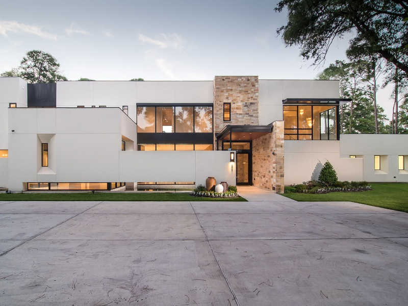 Houston modern home tour showcases city 39 s best new for Houston contemporary homes