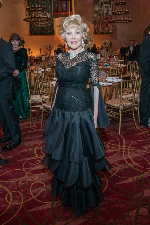 Houston, Ballet Ball gowns, Feb 2017, Joann King Herring in vintage Pierre Cardin