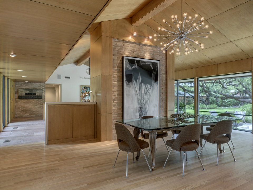 Currin house on AIA Dallas Tour of Homes 2014