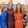 Cathy Vieth, Carmen Surgent, Maggie Kipp, Leigh Ann Hough, WINGS luncheon