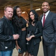 13 John Pruett, from left, Brandi Banks, Christina Vivola and Ken Banks at the CultureMap Social at Gateway November 2014
