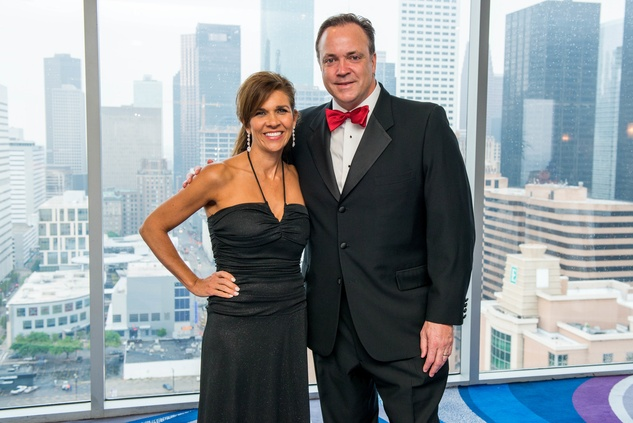 Janice and Tad Brown at the Circle of Life Gala April 2015