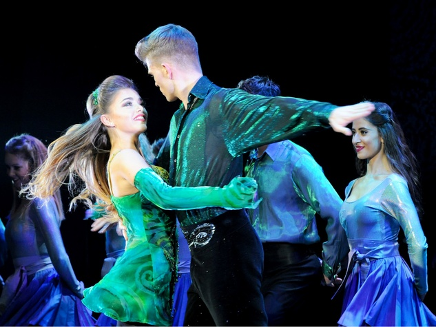 Riverdance 20th anniversary female male leads