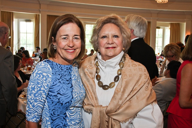 Center for Contemporary Craft luncheon May 2013 Andrea White and Phyllis Childress