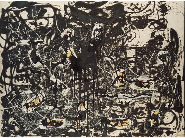Jackson Pollock's Yellow Islands - 1952