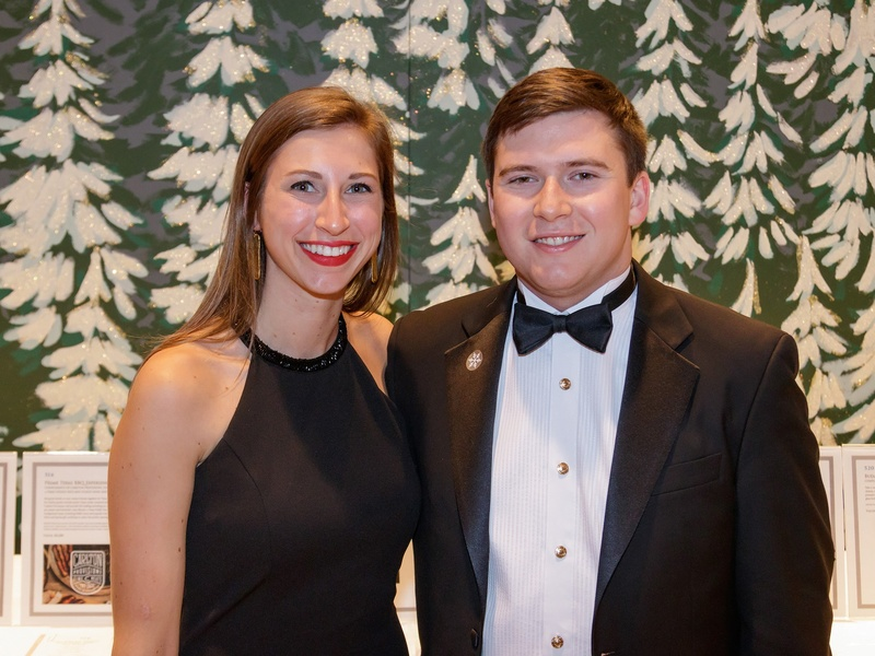 Emma Giuhat, William Matthews, Crystal Charity 2017