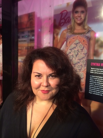 Cynthia Vincent and Barbie design