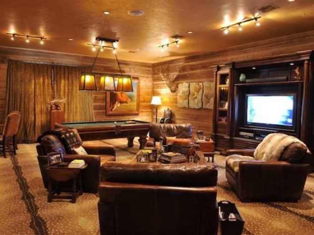 Timber Creek Ranch pool room