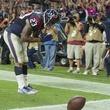 23 Texans vs. Colts October 2014 Arian Foster touchdown prayer bow