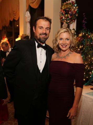 6 Taylor and Rhonda Holladay at the Trees of Hope Gala November 2013
