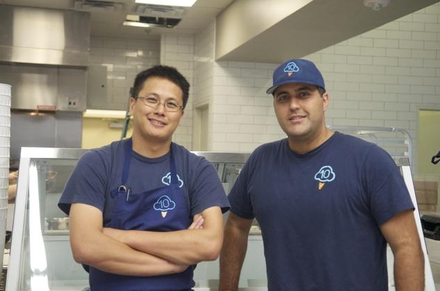 Christopher Balat and Chris Leung of Cloud 10 Creamery