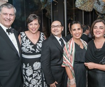 Mayor Mike Rawlings, Amy Hofland, Consul General Francisco de la Torre, Carolina Beltran, Director General Alejandra de la Paz