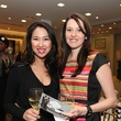 24 Sarah Ngo, left, and Danielle Rios at the Galveston Mardi Gras gown preview January 2014