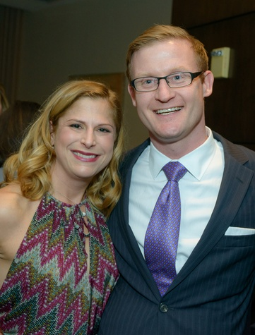 Danielle and Josh Batchelor at the Houston Symphony POPS Event with Steven Reineke & Sutton Foster February 2015