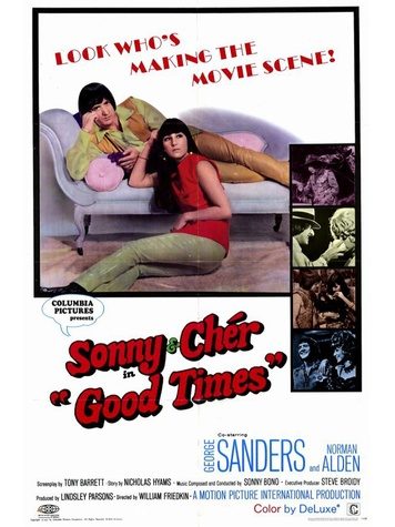 News_Good Times_Sonny and Cher_movie poster