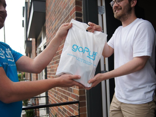 goPuff delivery service  sc 1 st  CultureMap Austin & New Austin service delivers booze to your door in 30 minutes or ...