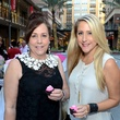 2 Susan Tripoli, left, and Andrea Simmons at the West Ave Turns Pink party October 2013