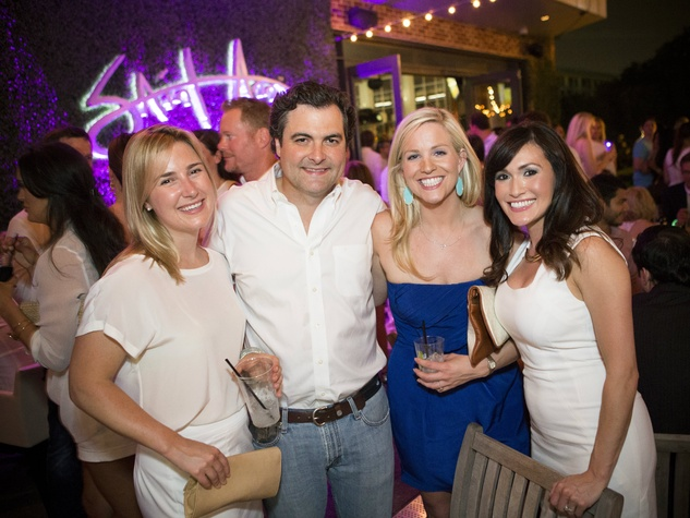 Tiffany Heath, Kate McEvoy, Willing Ryan, Virgina Grace, Wilkinson Center, White Party
