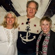 Gail and Brian Modic and Molly Hamilton, challenger of dallas sponsor and players party
