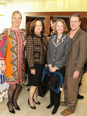 Bonni Shelby, Raven Sargent, Sue and Brett Ringle, CPPC Luncheon