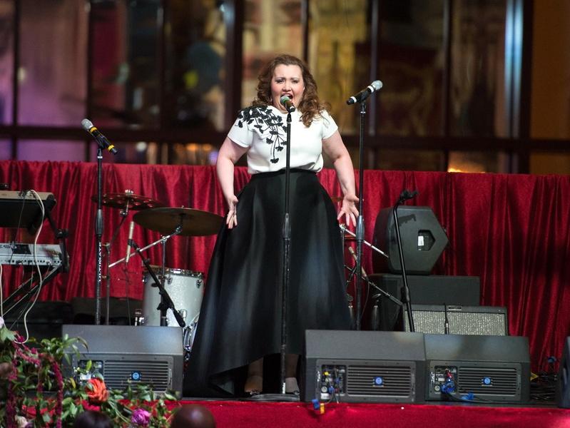Houston, Houston grand opera ball, April 2017, Artist Albina Shagimuratova