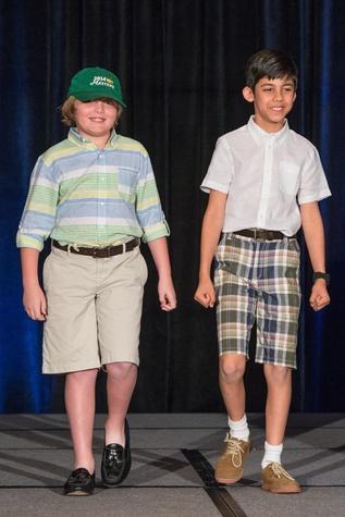 359 Brooks Milam, left, and Nikhil Shah at the Boys & Girls Harbor Fashion Show April 2015